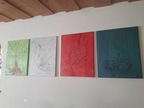 Die 4 Elemente4x 40x50 cm
